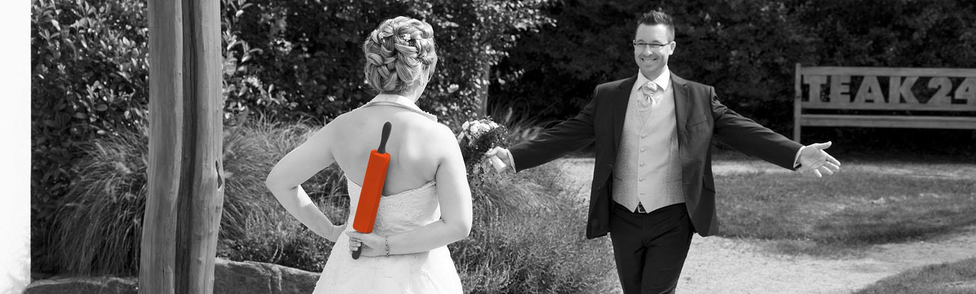 Ausgefallene Hochzeitsfotografien